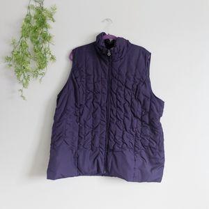 (Lane Bryant) Purple Vest 22/24